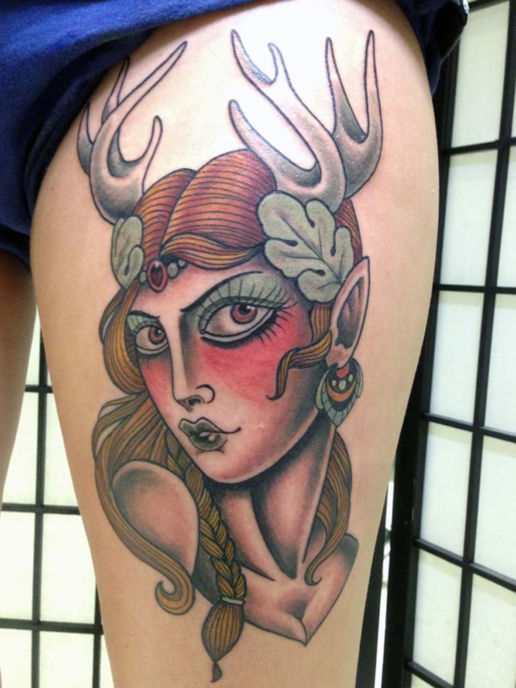 elf sydney tattoo